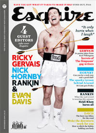 Ricky Gervais in Esquire (2009)
